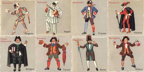 Maschere-Carnevale-Italiane