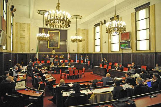 Milano Palazzo Marino Consiglio Comunale