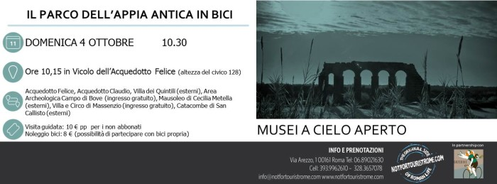 Banner Appia in bici 4.10