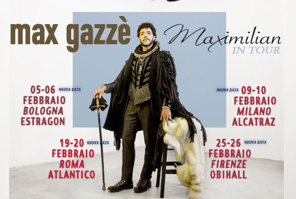 Max Gazzè_manifesto new