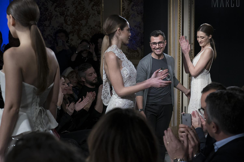 """""""Lei, femminilesingolare"""" la collezione sposa 2018 di Marco Strano"""